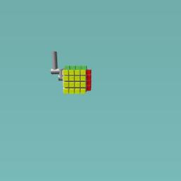 Rubik's Cube Toilet
