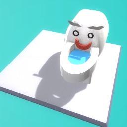 monster toilet