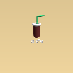 my ice coffee