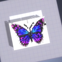 The great unicorn butterfly