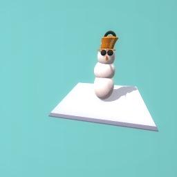 Chelsea the snowman
