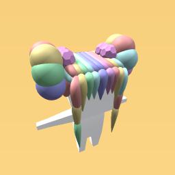Pastel Rainbow Buns