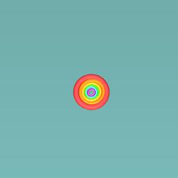 rainbow cicle