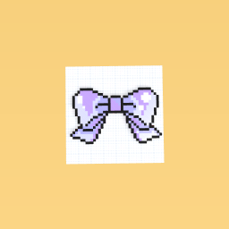 Purple and Blue Bow