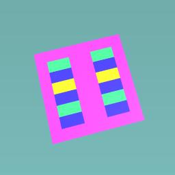 2 color floor