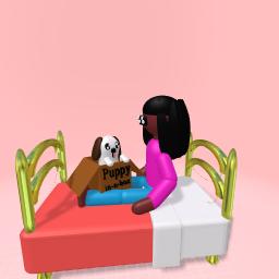 Puppy in-a-box