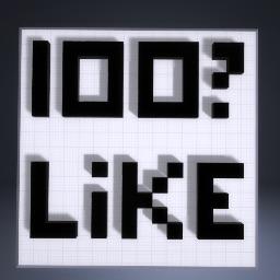 100? Likes