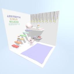 aesthetic room