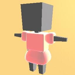 axolotl dress made by me (original)