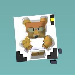 Science bear in Bee swarm simulator
