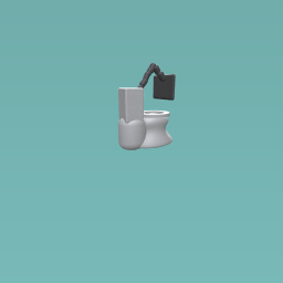 the tv toilet