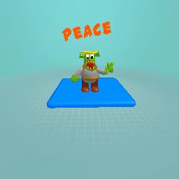 shrek says peace