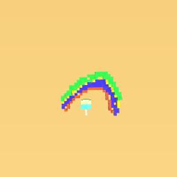 Rainbow Popsicle