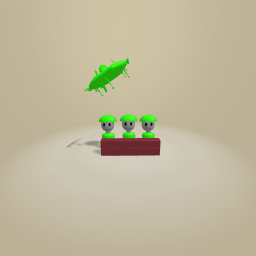 Worms at war! Pew!