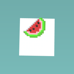 my own watermelon finished edition one