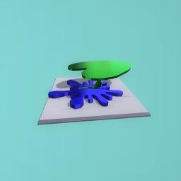 Bee landing platform
