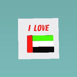 i love UAE
