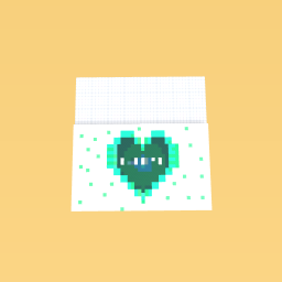 The beautiful green heart