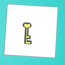 pixel art key