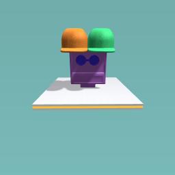 hoody hat.