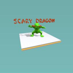 scary dragon
