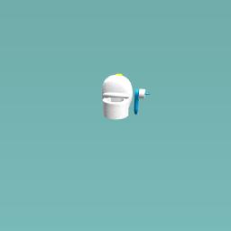 toilet (with toilet paper!)