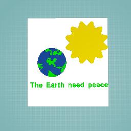 earth need peace