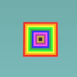 1qaqa Rainbow design