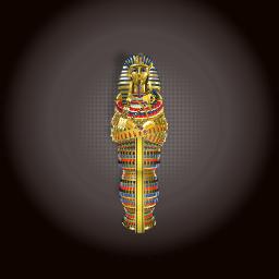 King Tutankhamun(Tut) Sarcophagus WIP