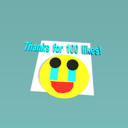 THANKS FOR 100 LIKES!!!!
