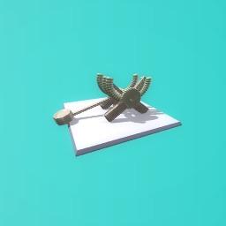 Catapult by leo nardo da vinci