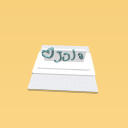 Jojo siwa sign