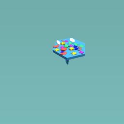 Rainbow unbrela