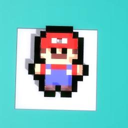 Mario Keyring