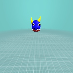 An oni's head