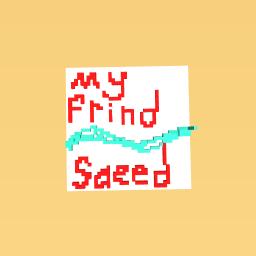 my frind saeed