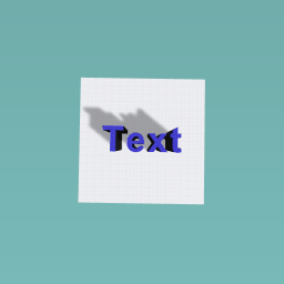 Giant Text With shadow
