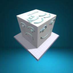 Meet Coblox the Emoji Cube
