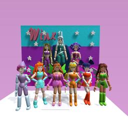 Winx Club + Trix