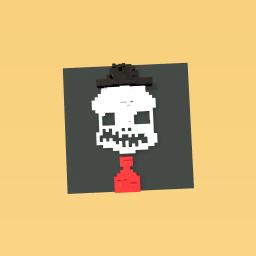 the goofy skeleton