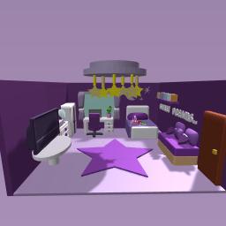 Cute purple Room