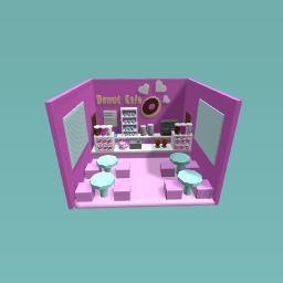 Cute Donut Cafe