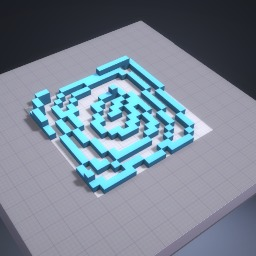A maze you cant go through