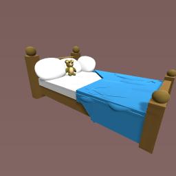 A cozy bed :)