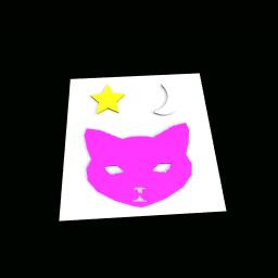 Star moon cat
