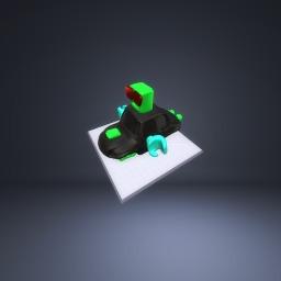 Robot car for cristmas