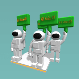 Mars Protest Banners