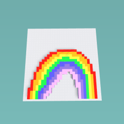 The beatiful rainbow