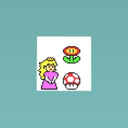 Mario Pixel Doodles