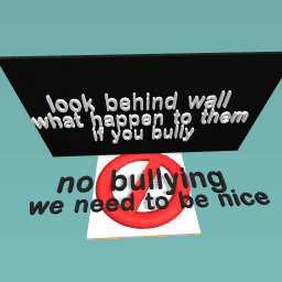 BULLYING IS BAD